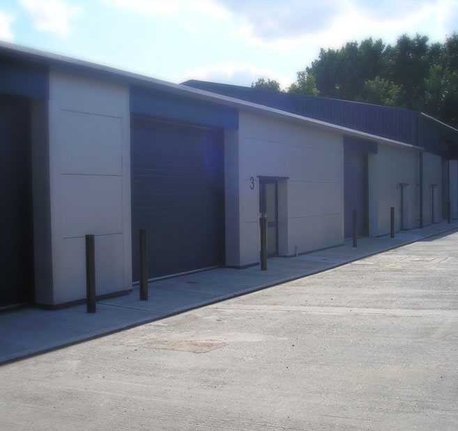 Wheaton Court new industrial units