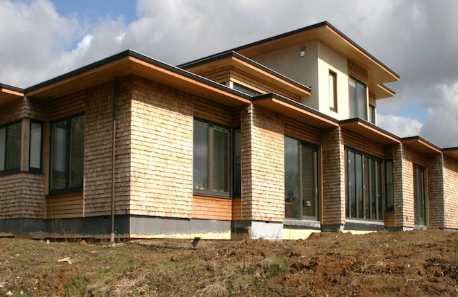 Eco house to Passiv Haus standards in Stock, Essex
