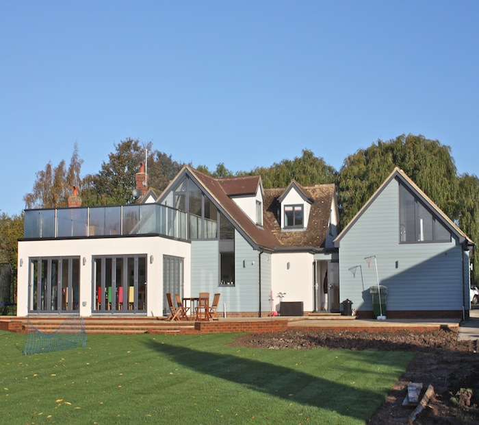 Extension to bungalow in Mersea