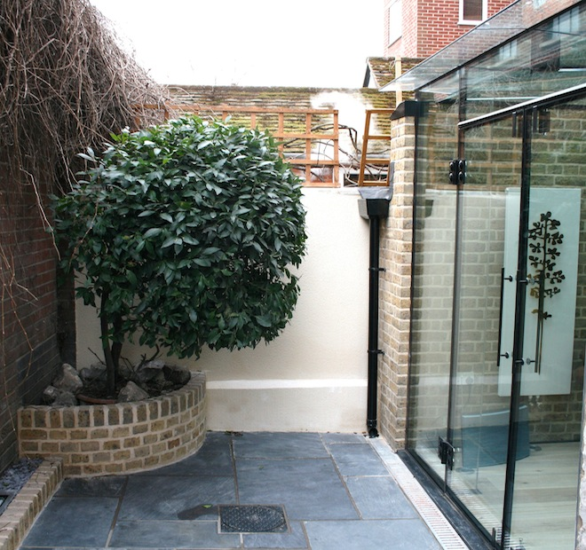 Frameless Glass Conservatory to Grade II Listed Dwelling